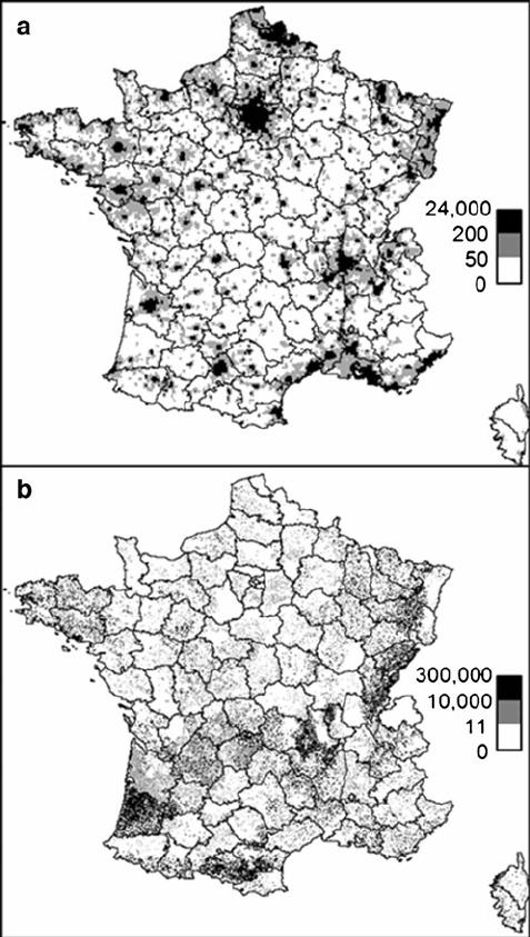 477x843 Input Variables. A Human Population (Persons Per Square Kilometre