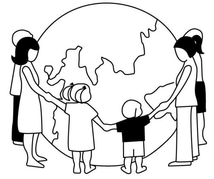 715x600 World Population Day Drawing Free Images, Pictures And Templates