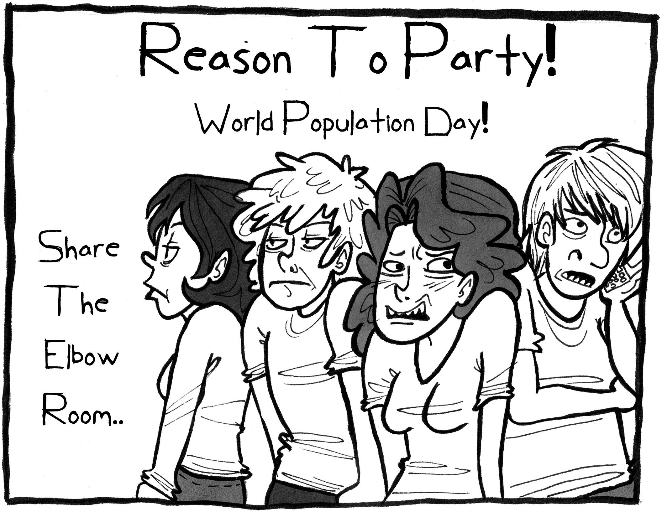 2112x1635 World Population Drawing For Kids Free Printable Calendar