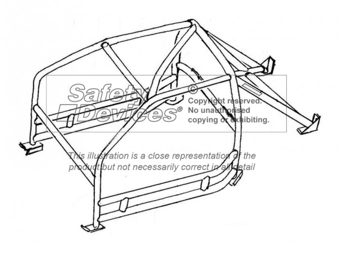 667x500 Porsche 911 993 Non Sunroof Se Usa Spec Weld In Roll Cage Safety: Porsche 993 Turbo Wiring Diagram At Hrqsolutions.co