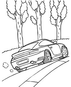 236x289 550 Thumb Porsche 911 Gt3 Coloring Page 12133 Coloring Pages