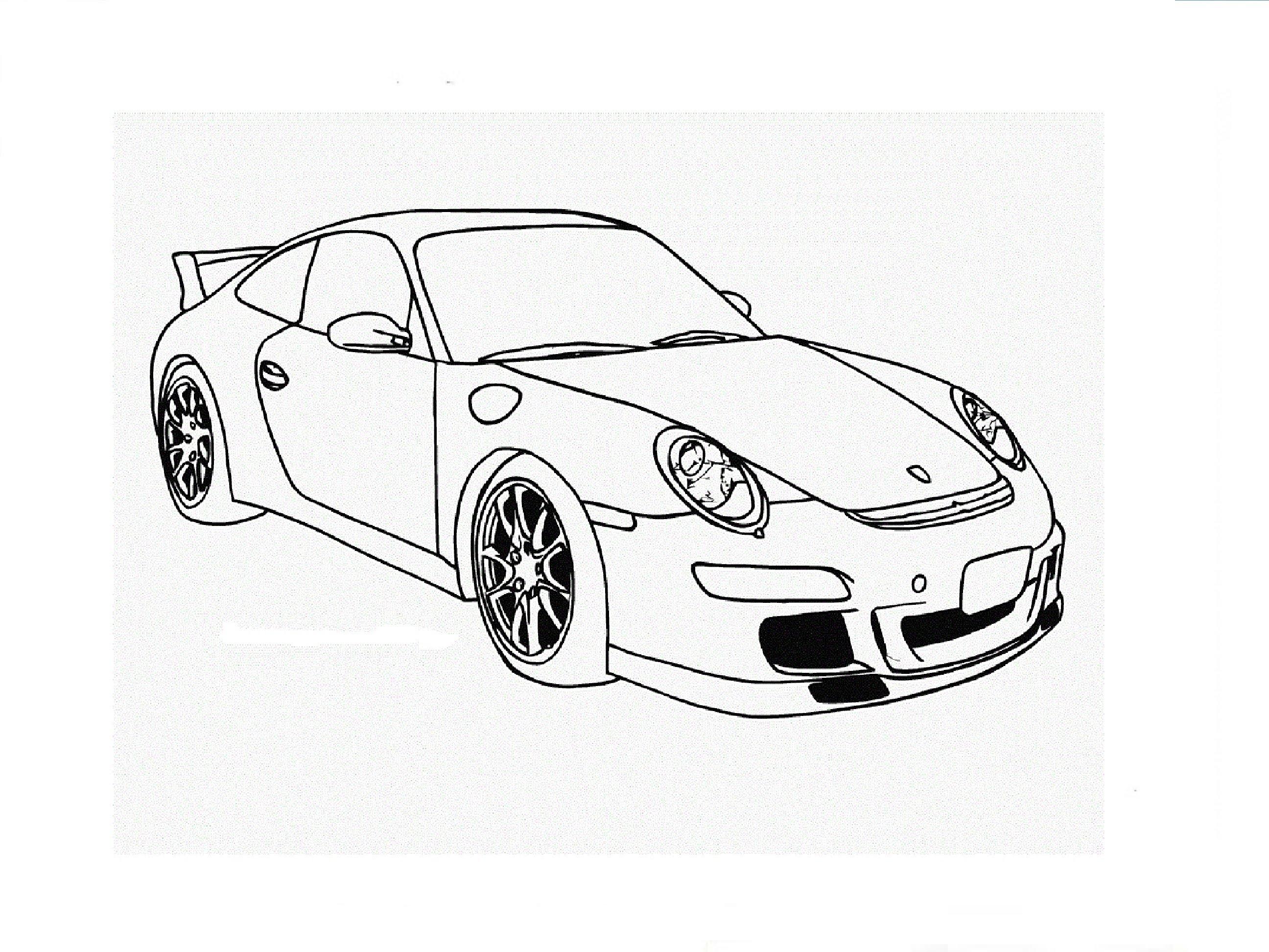 Porsche 911 Drawing At GetDrawings.com
