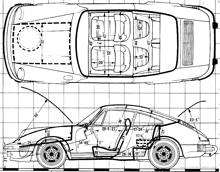 Porsche 911 Drawing at GetDrawings.com   Free for personal use ...
