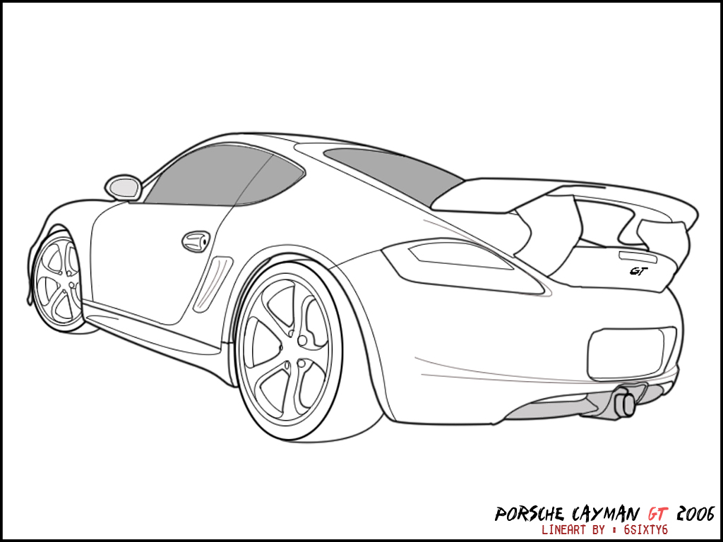 Porsche 918 Spyder Drawing At Free For Personal Engine Diagram 1024x768 Best Coloring Pages Images