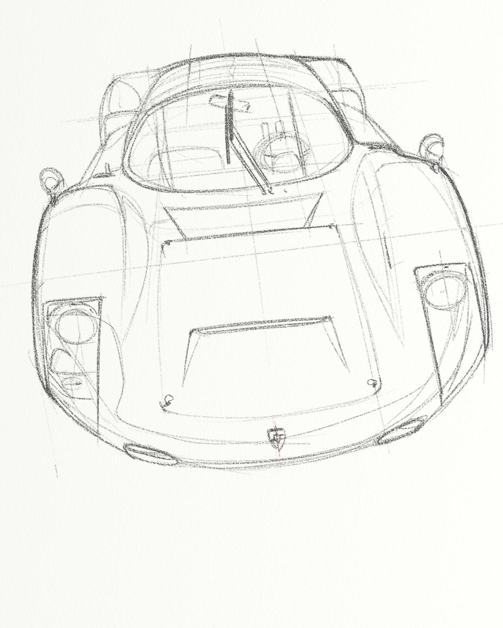 1024x1280 Porsche 906 Porsche Heritage Cars, Car Drawings