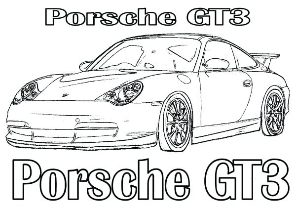 porsche drawing at getdrawings com