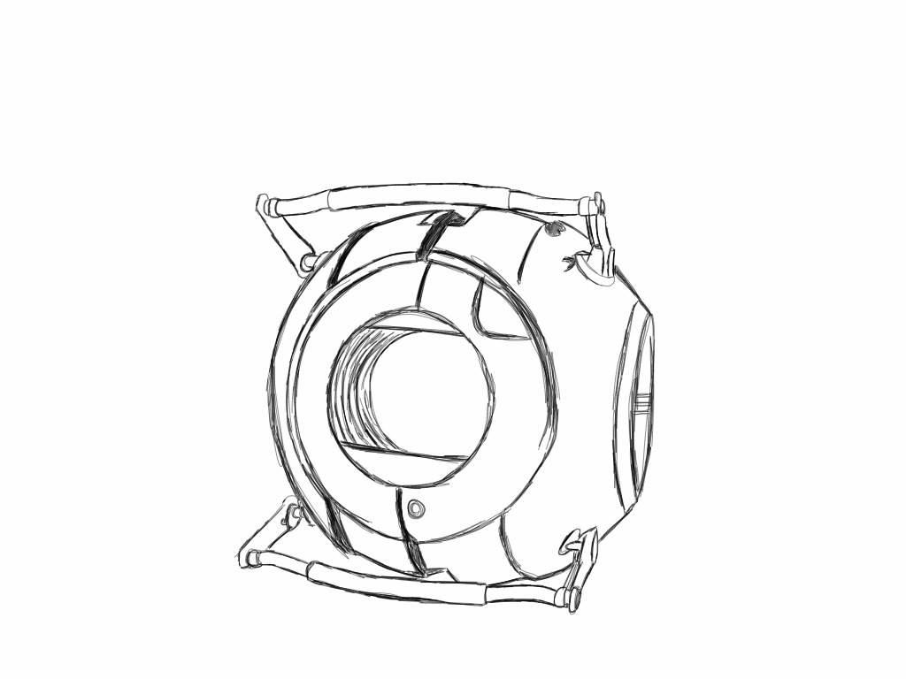 1024x768 Portal Core Template By Spikedpikmin