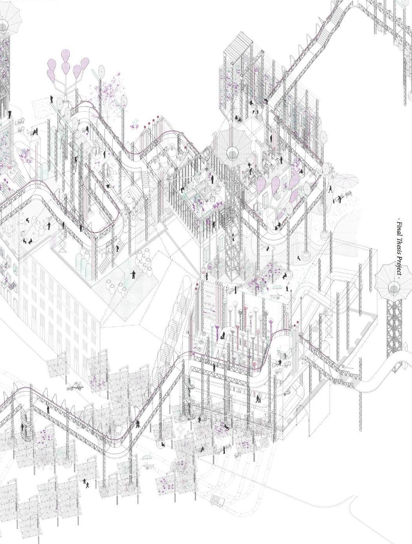 1052x1389 Claudia Conde Architecture Portfolio Architecture Portfolio