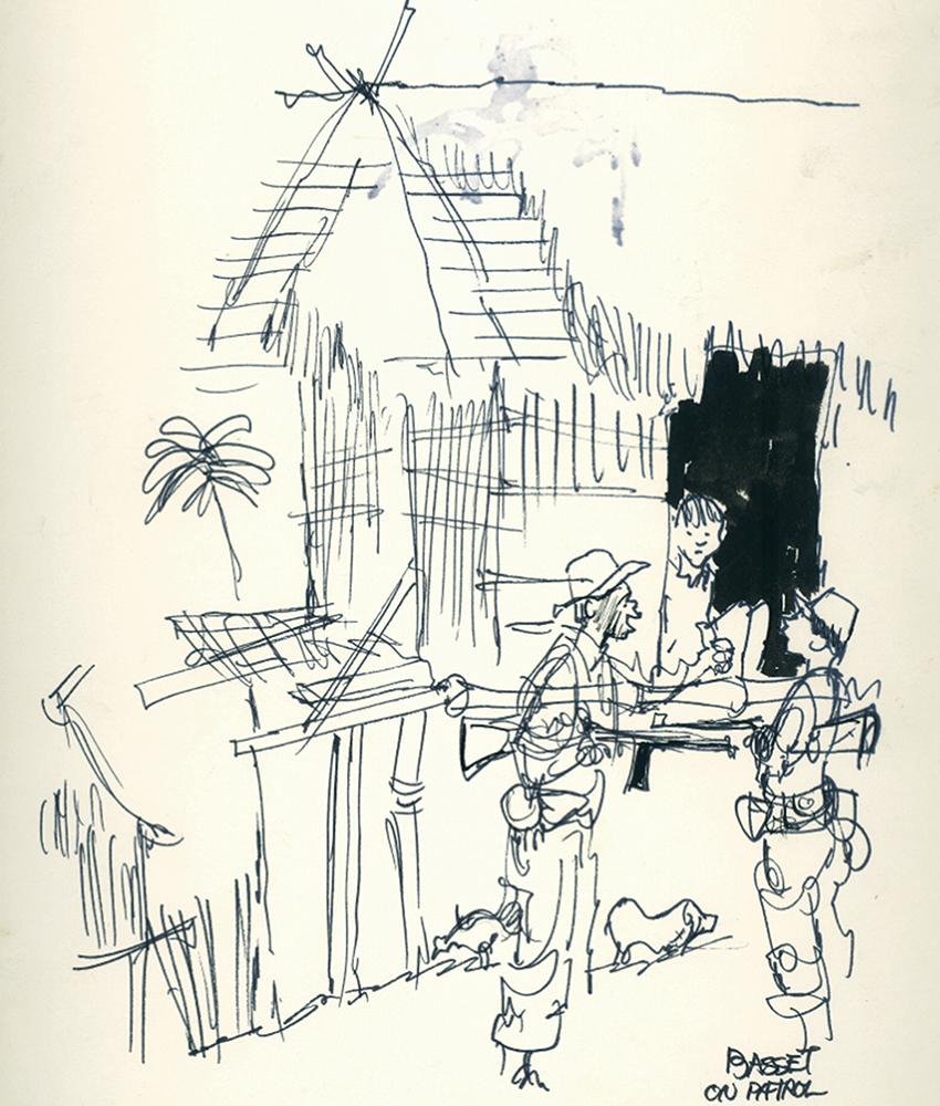 850x1000 Portfolio Gene Basset's Vietnam Sketchbook Historynet