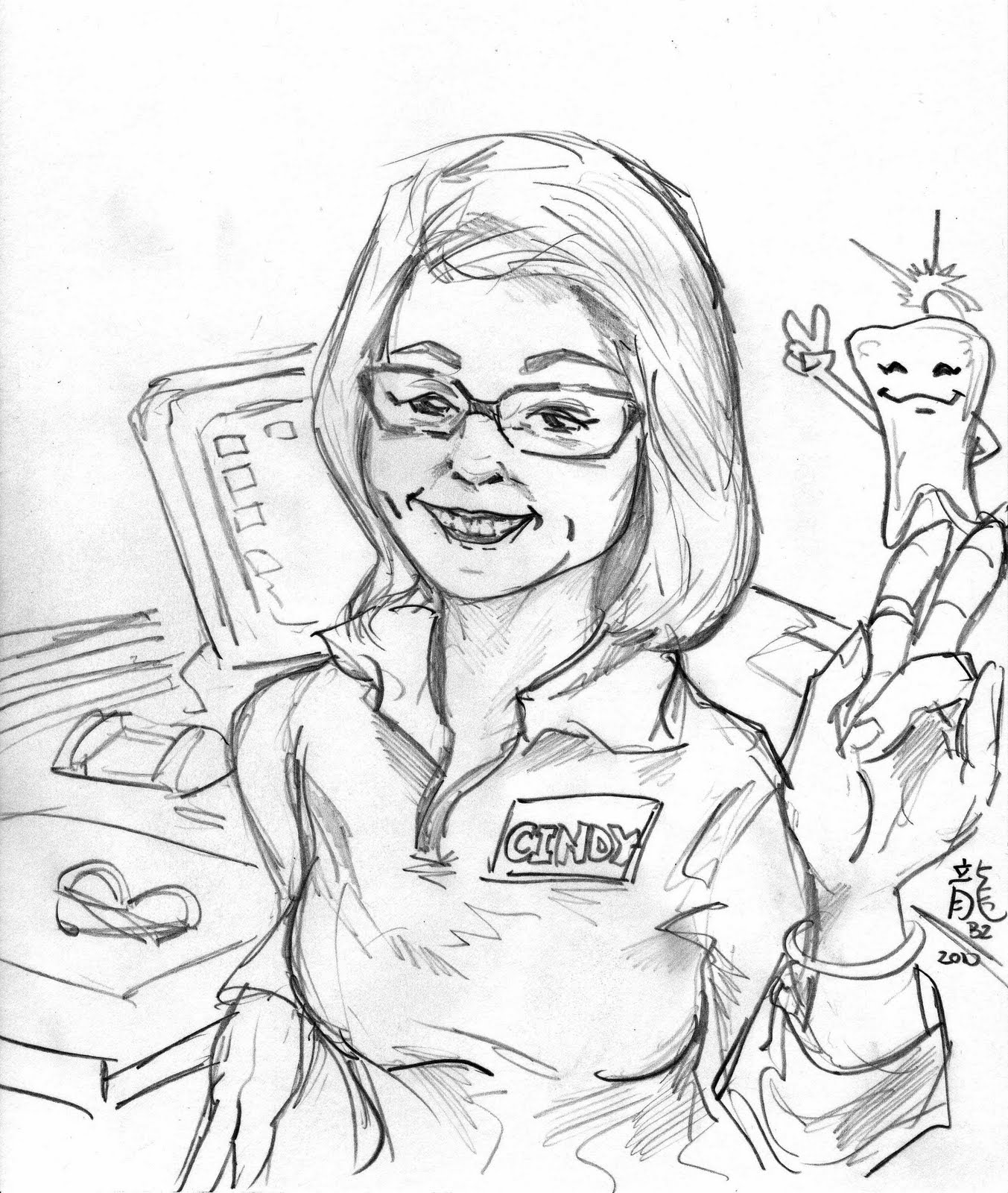 1353x1600 Kid Sketches Cartoon Portrait Warm Up And Upcoming Public Event