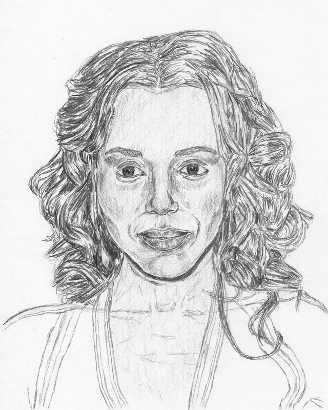 640x800 How To Draw A Face Kerry Washington Tutorial Let's Draw People