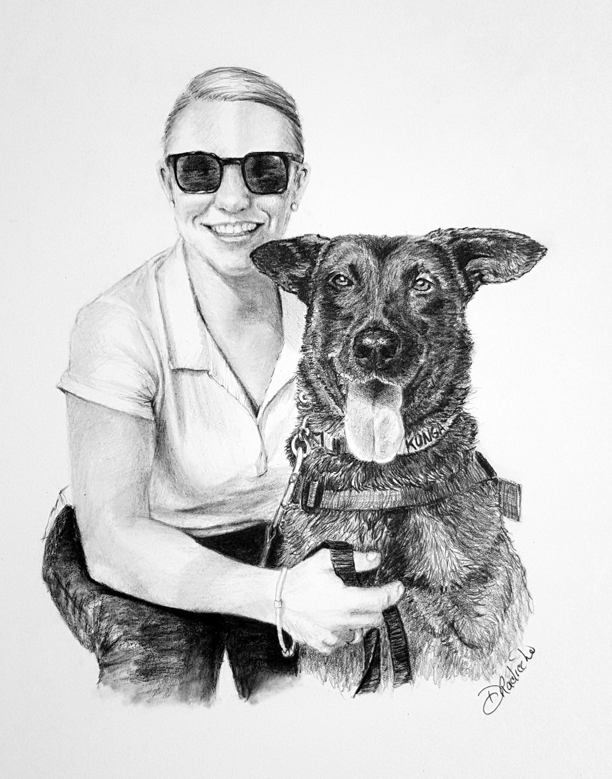 2067x2629 Art By Debbie Pet Portraits In Pencil From Photos Philadelphia