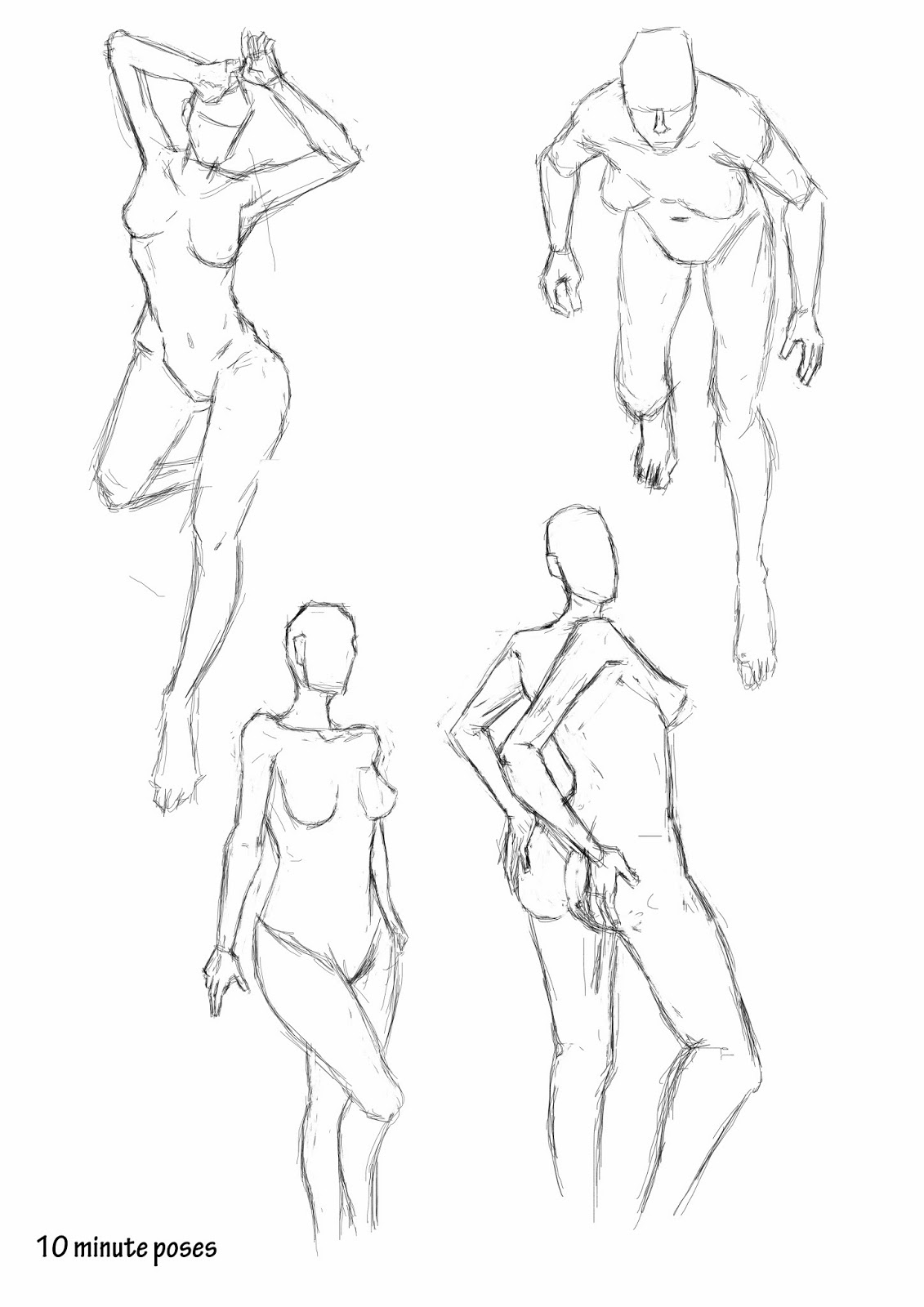 1131x1600 Observational Drawing Pose Maniacs