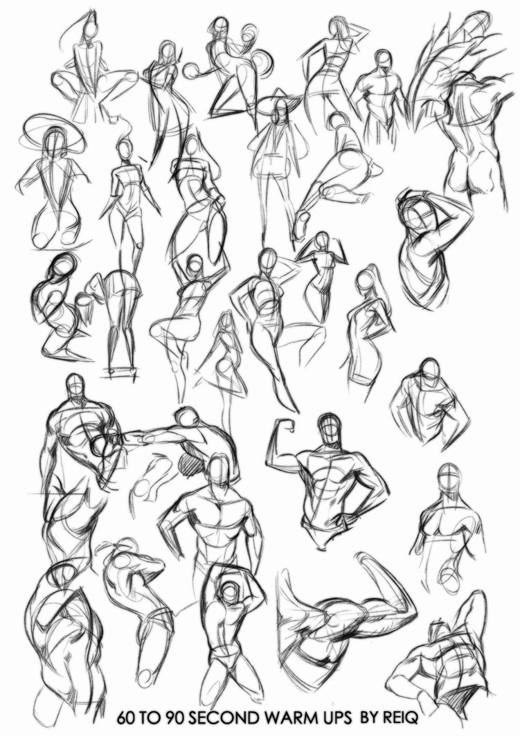 751x1063 Warm Ups Drawings, That Will Change You Life. By Reiq