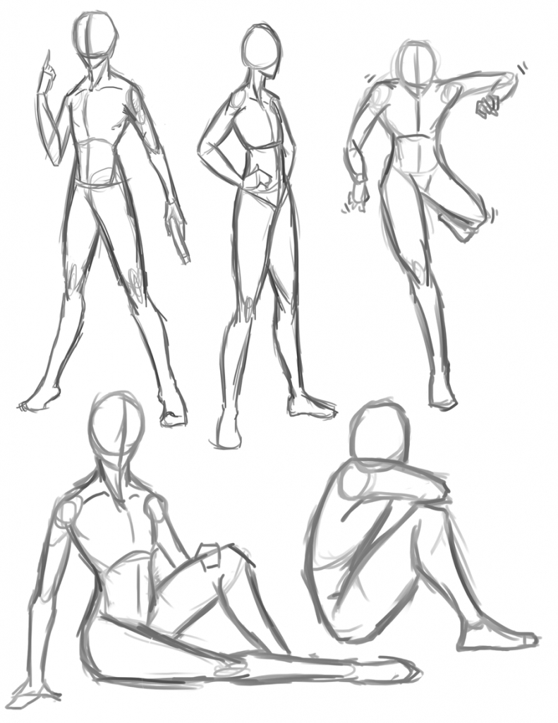 791x1024 Anime Poses Drawing Drawing Anime Poses Anime Pose Drawing
