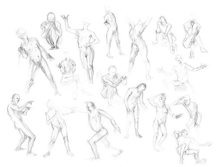 700x541 Ashcan Figure Drawing