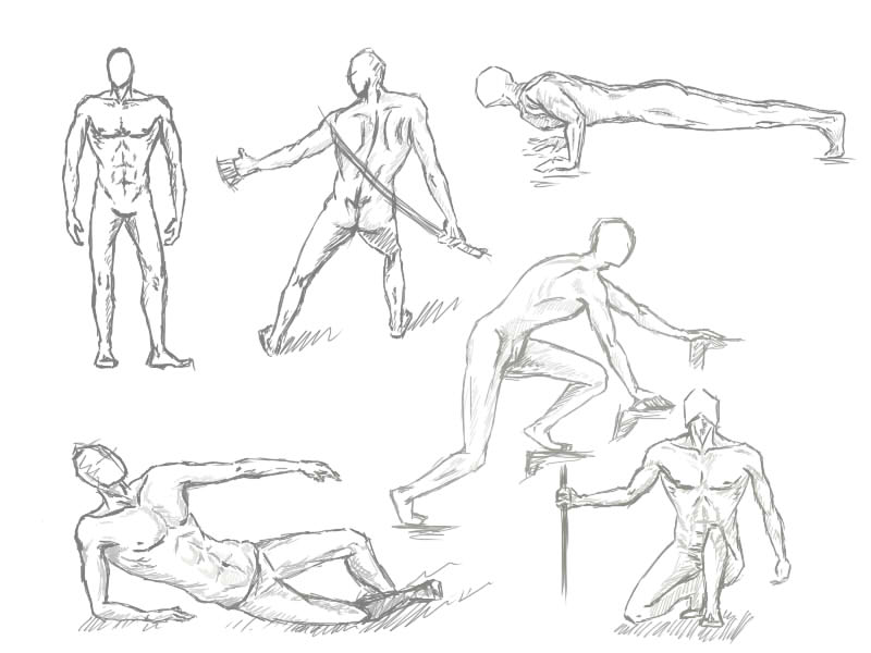 poses male drawing at getdrawings com free for personal use poses