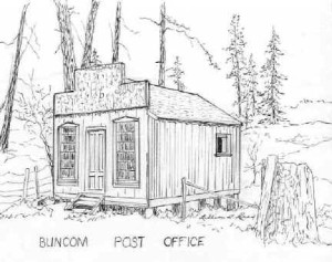 300x237 Post Office, By Lillian Reed Buncom Oregon