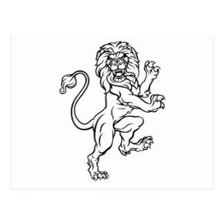 324x324 Lion Drawing Postcards