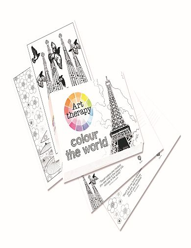 390x505 Art Therapy Around The World Postcard Special