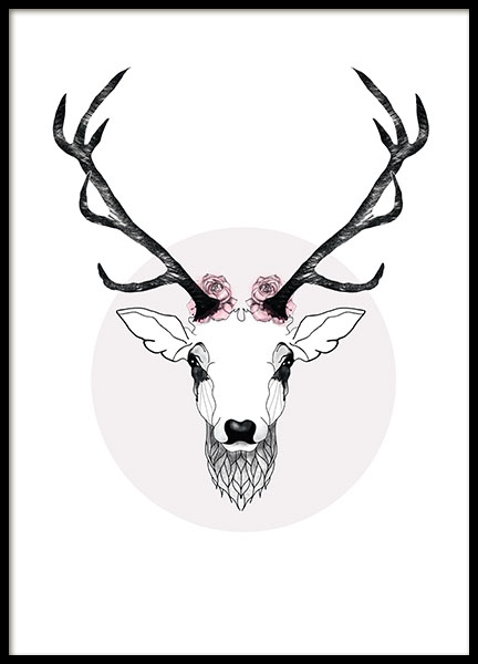 432x600 Deer, Prints