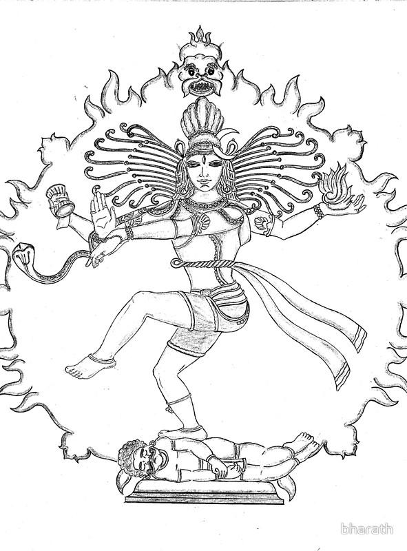 591x800 Mahadev Drawing Posters Drawings