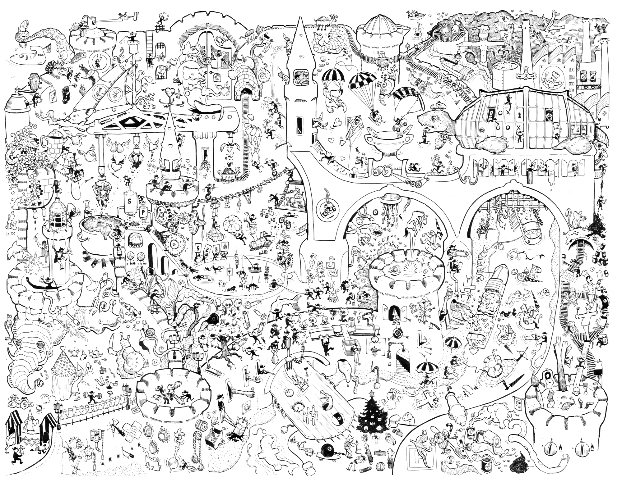 2000x1552 Giant Coloring Poster