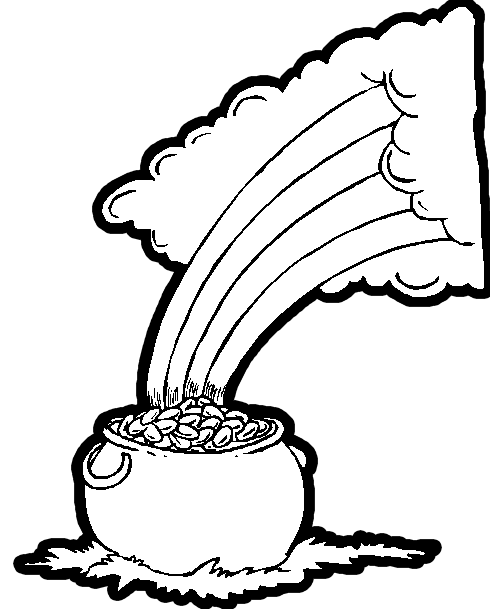 490x609 Leprechaun's Pot Of Gold
