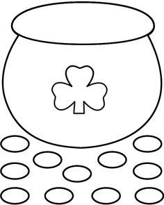 236x295 Pot of gold printable Pot Of Gold