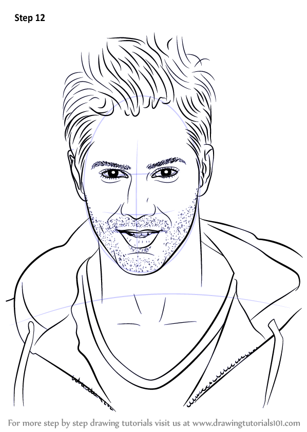 598x842 Learn How To Draw Varun Dhawan (Celebrities) Step By Step
