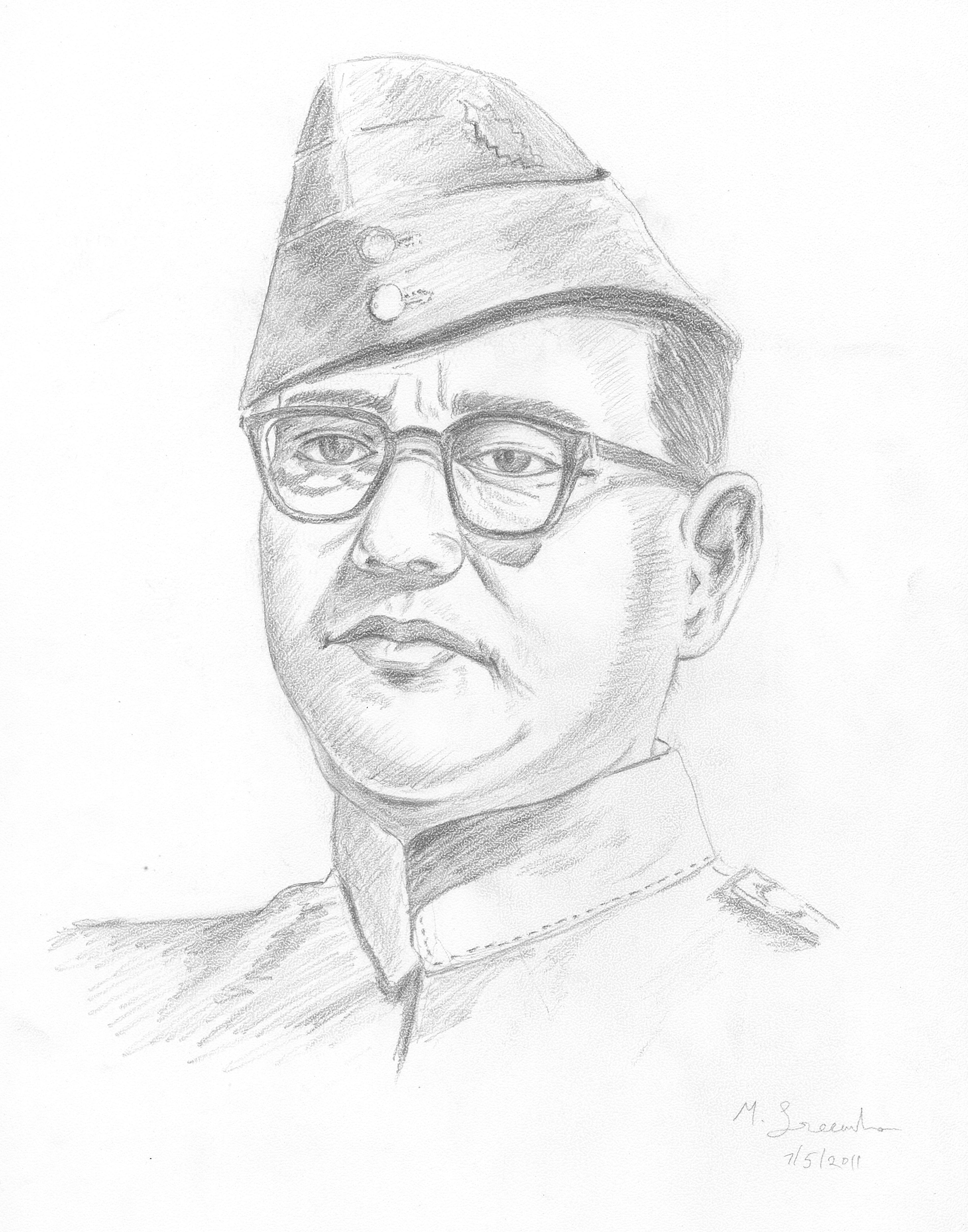 3806x4843 Subhash Chandra Bose