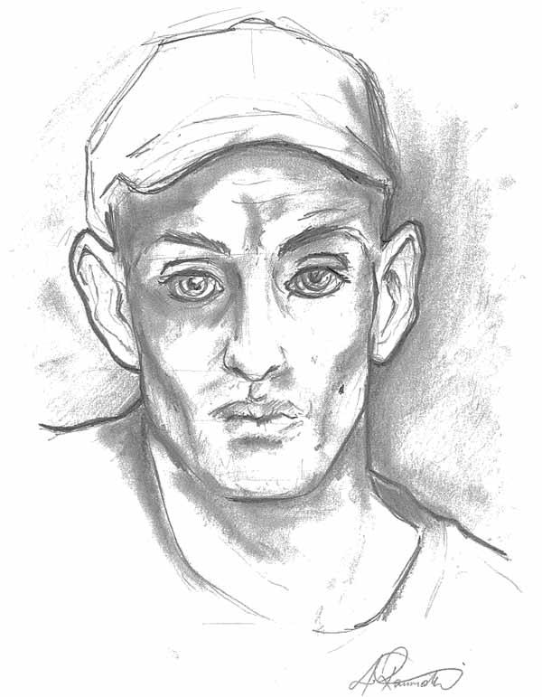 600x771 Visitors' Portrait Drawings Te Papa