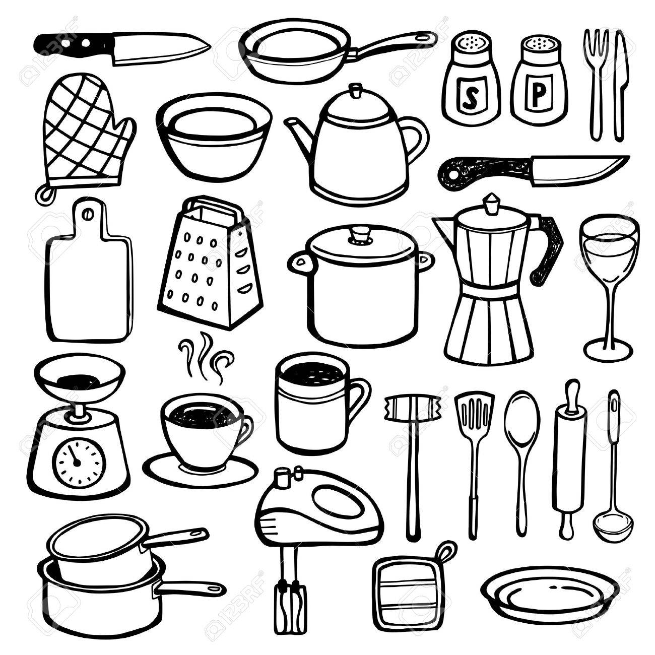 Perfect Wired On Coffee Clip Art Illustration - Electrical Diagram ...