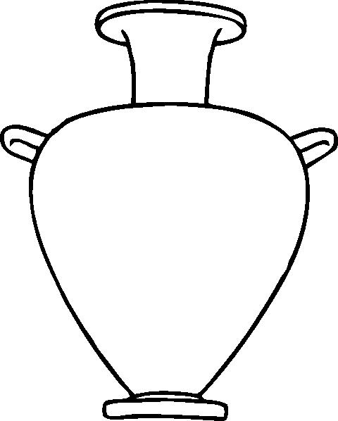 480x598 Greek Amphora Clip Art