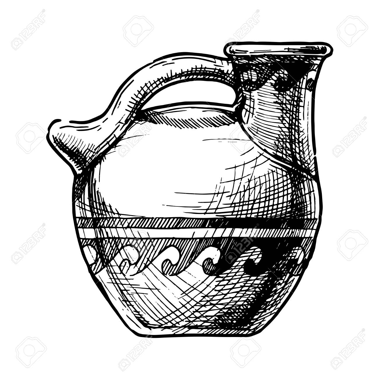 The Best Free Pottery Drawing Images Download From 87