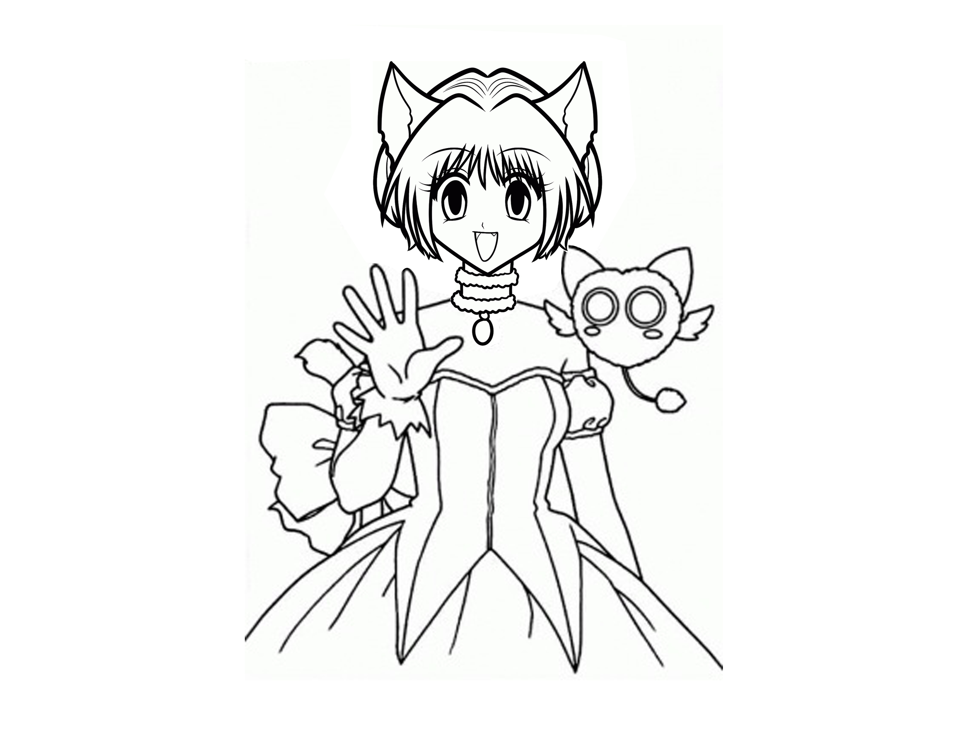 3200x2400 How To Draw Tokyo Mew Mew 11 Steps (With Pictures)