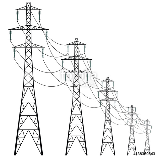 power line drawing at getdrawings com