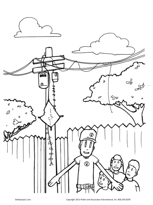 540x720 Safety For Kids Kites In Power Lines Safety Topics