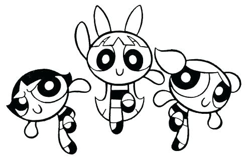 500x321 Power Puff Girls Coloring Page Girls Coloring Pages Bubbles