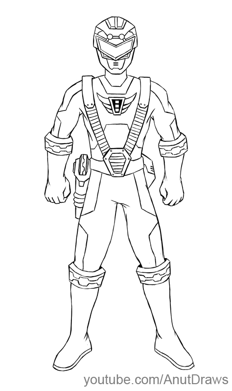 Power Ranger Drawing at GetDrawings | Free download