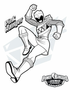 236x305 Power Rangers Dino Charge Coloring Page