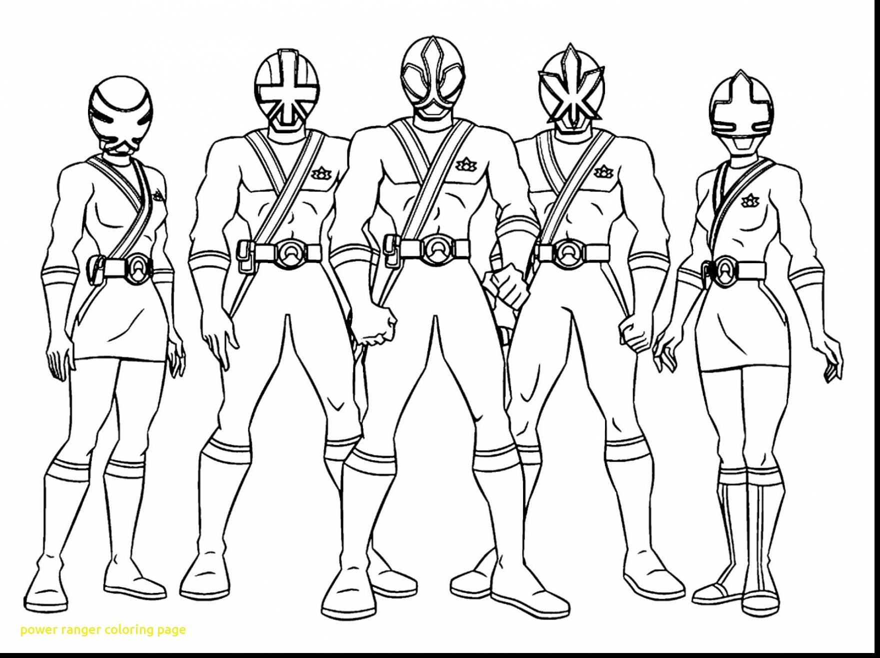 1760x1315 Power Ranger Coloring Page With Rangers P On Power Rangers