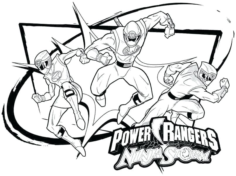 805x600 Power Ranger Coloring Pages Power Rangers Ninja Storm Coloring