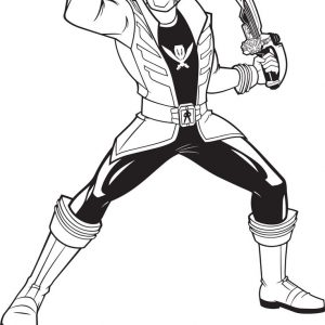 300x300 Power Ranger Coloring Pages Samurai For Kids Power Adult