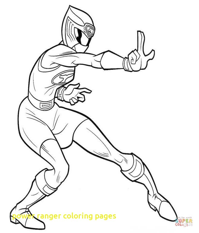 659x774 Power Ranger Coloring Pages With Rangers On Draw Wolf Ranger Step