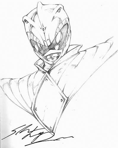 398x500 Power Rangers Sketches