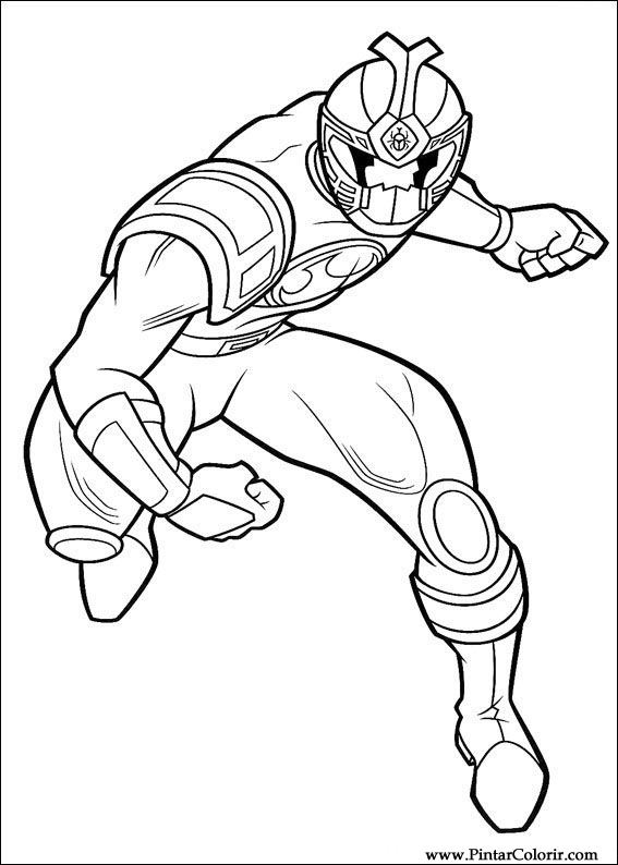 567x794 Drawings To Paint Amp Colour Power Rangers