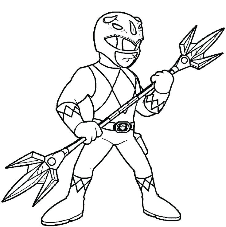 736x739 Power Ranger Jungle Fury Coloring Pages Giant Robot Armed Ranger