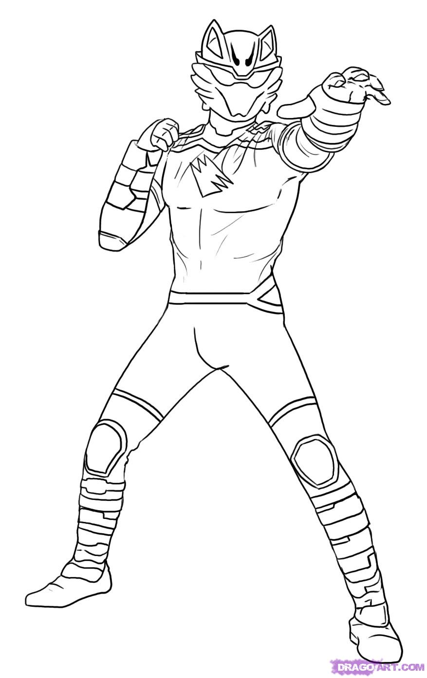 877x1390 Power Rangers Drawing Pictures