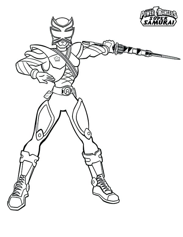 600x777 Power Rangers Samurai Coloring Book Awesome Pink Ranger In Power